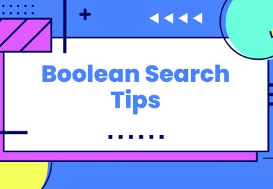 BOOLEAN SEARCH GUIDE FOR RECRUITERS